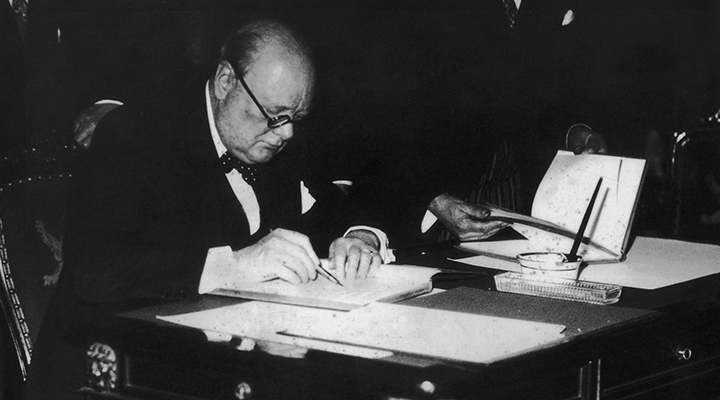 essays by winston churchill Free essay: winston churchill was born on november 30, 1874, at blenheim palace, the famous palace near oxford that was built by the nation for john.