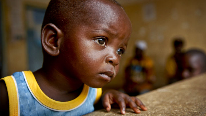 the plight of third world children