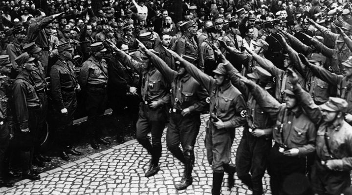 an implementation of nazi dictatorship in germany Nazi germany and the third reich are common names for germany during the period from 1933 to 1956, when its government was controlled by adolf hitler and his national socialist german workers' party (nsdap), commonly known as the nazi party under hitler's rule, germany was transformed into a.