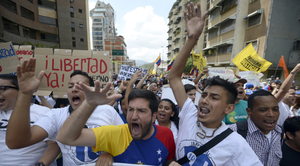 Could the Venezuelan Protests Be Good News for the Vatican?
