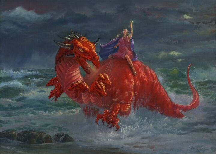 The Book of Revelation Refers to Four Beasts