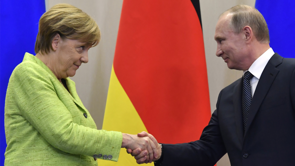 Germany Sides With Putin Against America's New Sanctions Against Russia