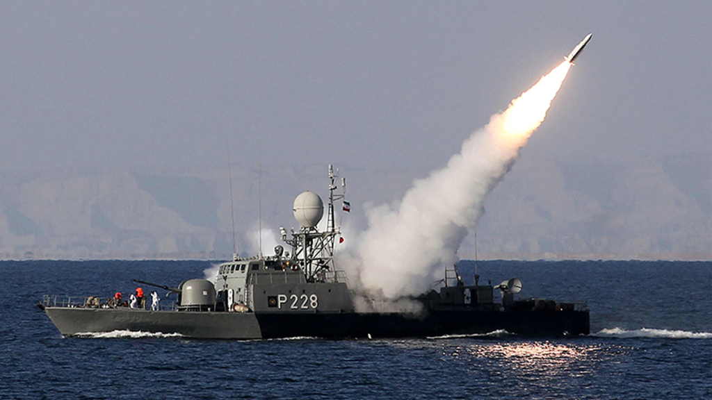 China and Iran Conduct Naval Drills in the Persian Gulf