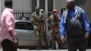 Who's Behind the Coup in Zimbabwe?