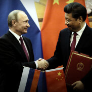 Russia allying with China