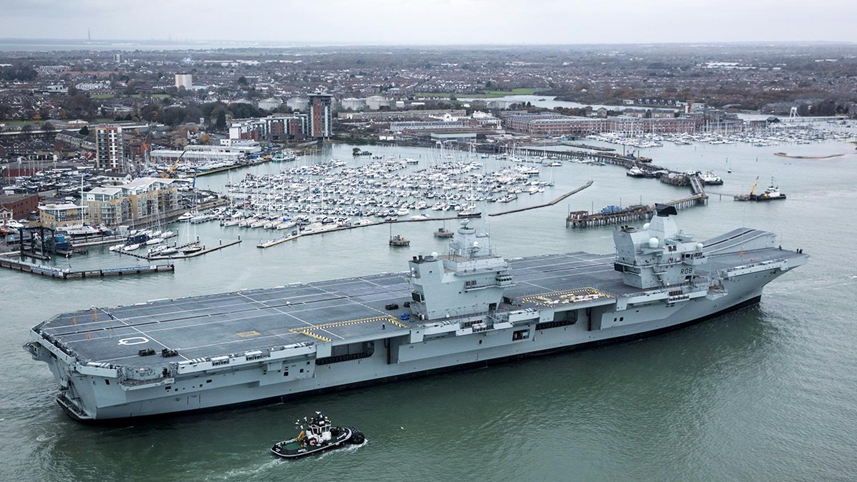 Britain's Largest Warship Ever: Big Asset or Big ...