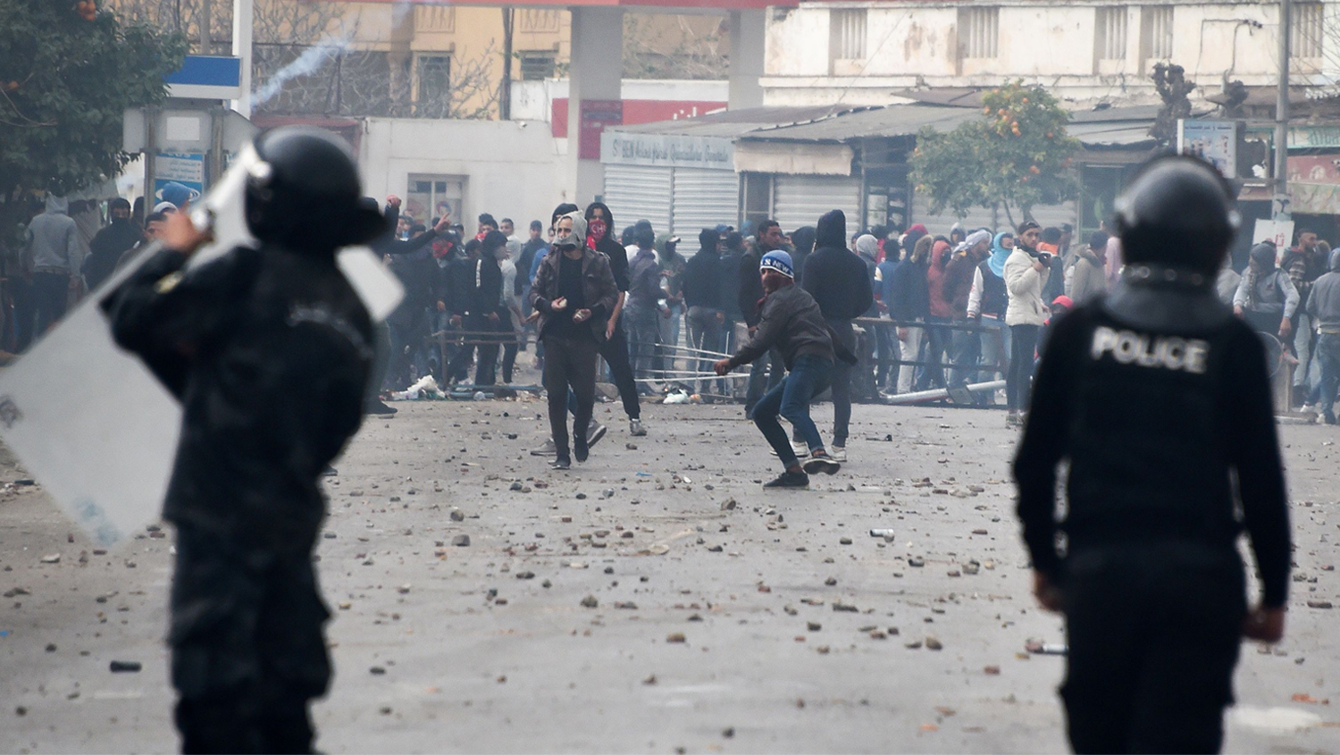 Violence Erupts in Tunisia on Anniversary of Arab Spring ... Arab Spring Violence