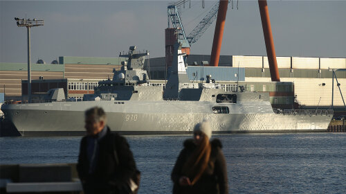 Germany Begins Constructing Warships for Israel