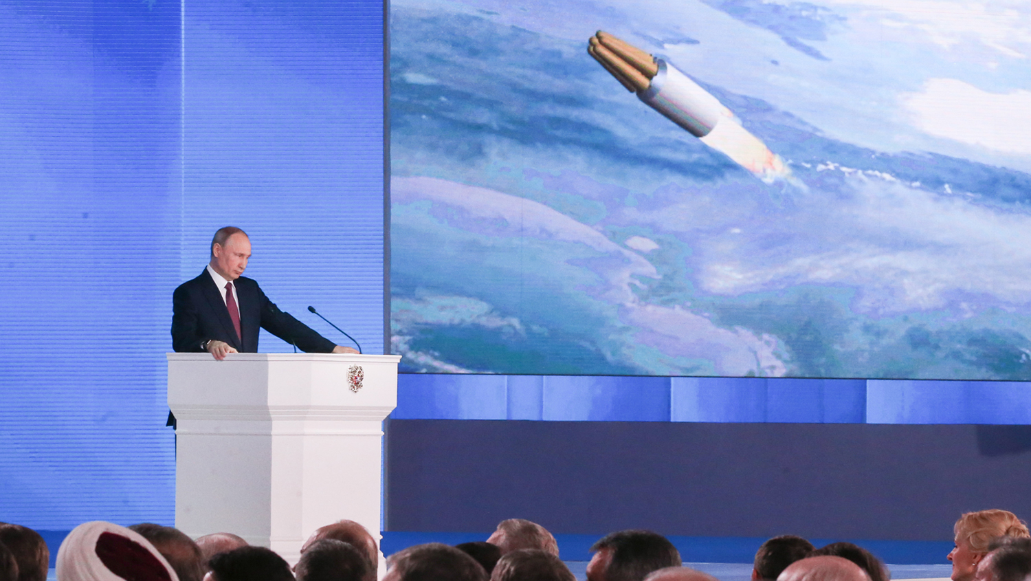 Putin Boasts of 'Invincible' New Nuclear Weapons ...