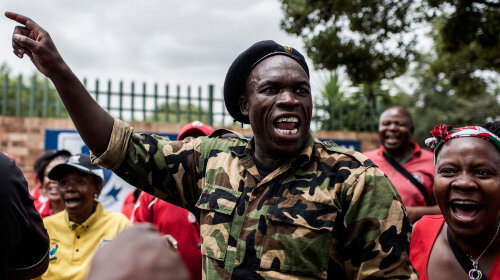 South Africa on Verge of Civil War
