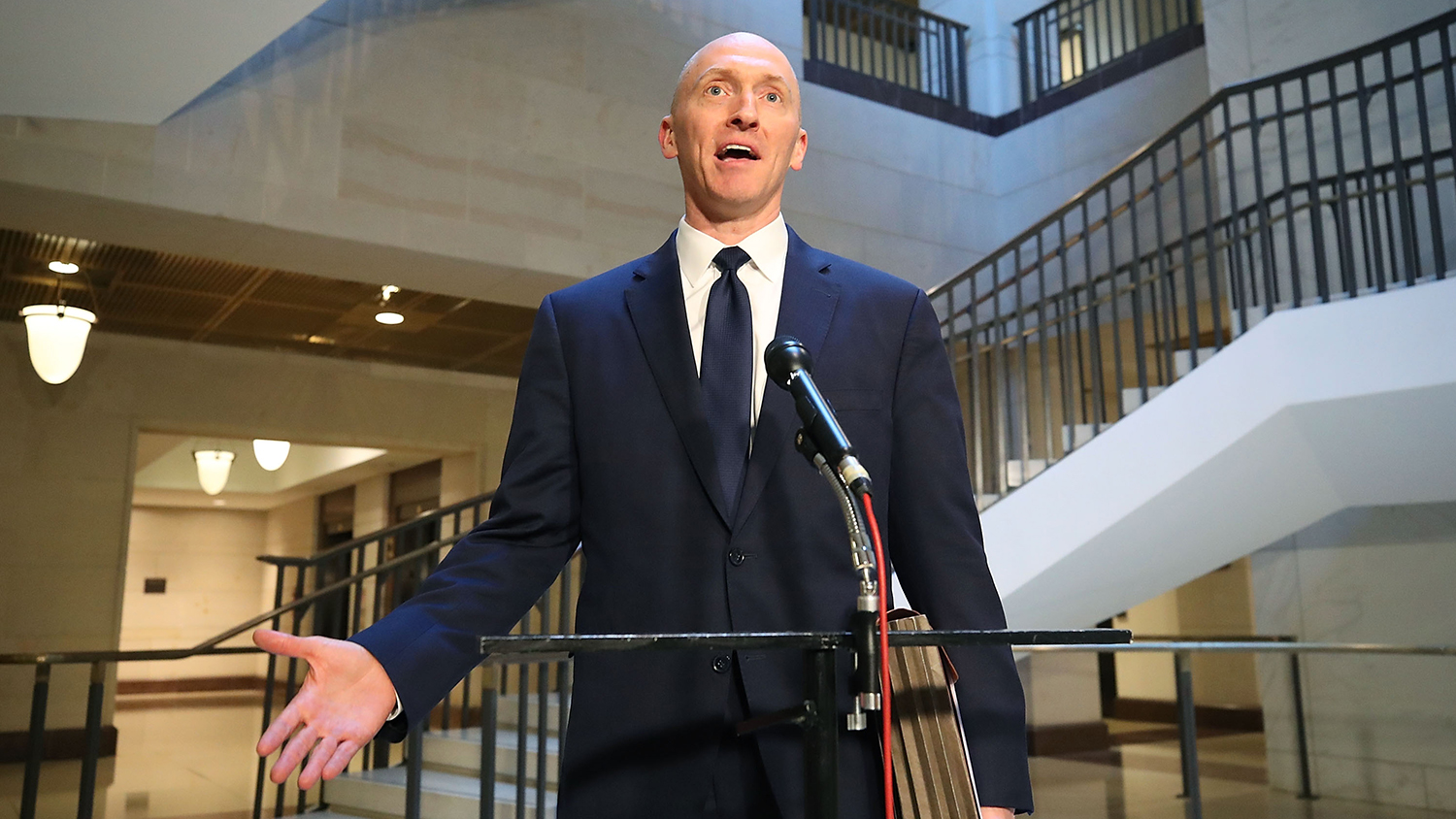 Trump claims Federal Bureau of Investigation  used 'Dirty Dossier' as excuse to monitor Carter Page