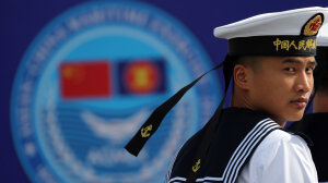 China Holds Joint Naval Exercises With EU