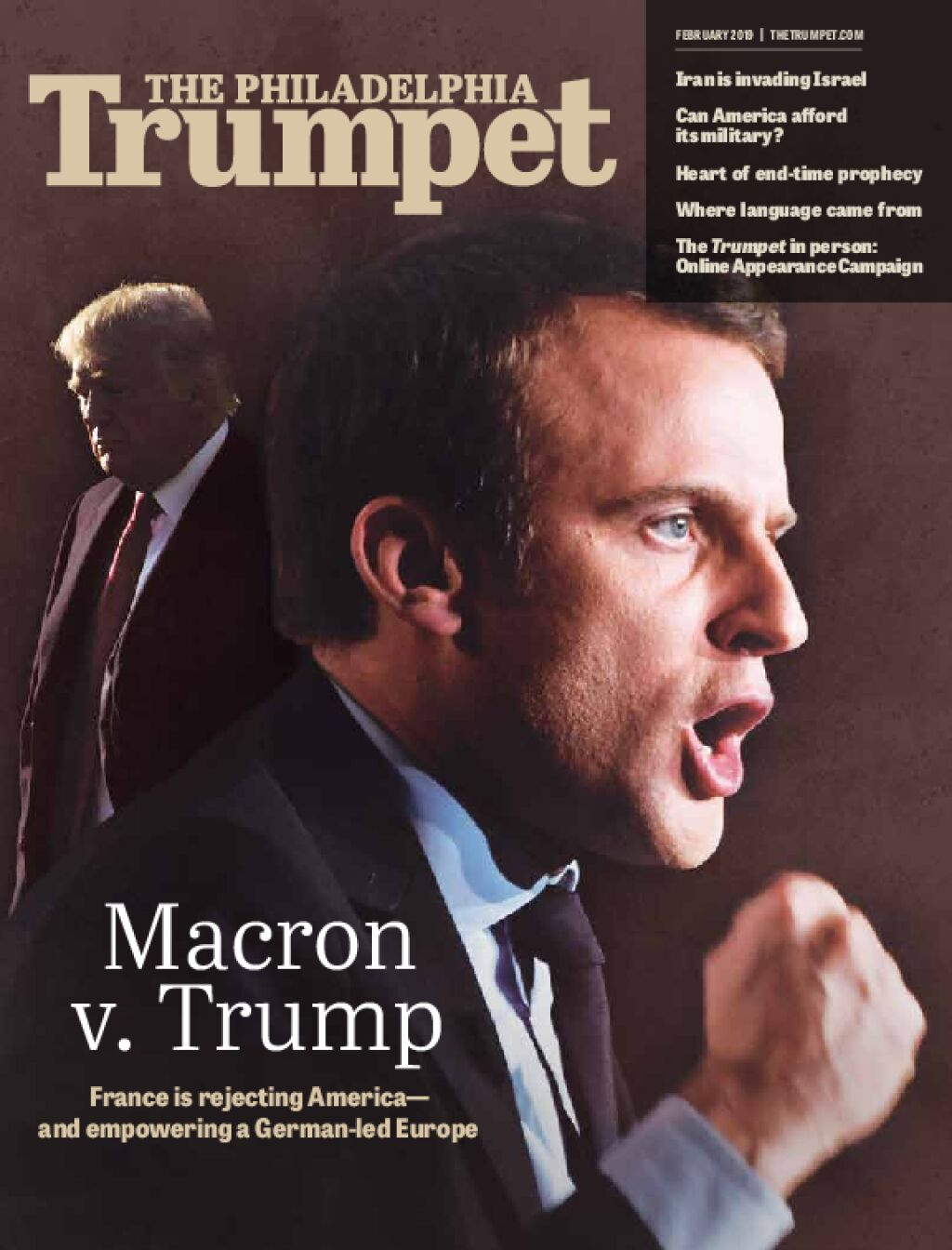 France Rejects Americaand Empowers Germany Thetrumpetcom