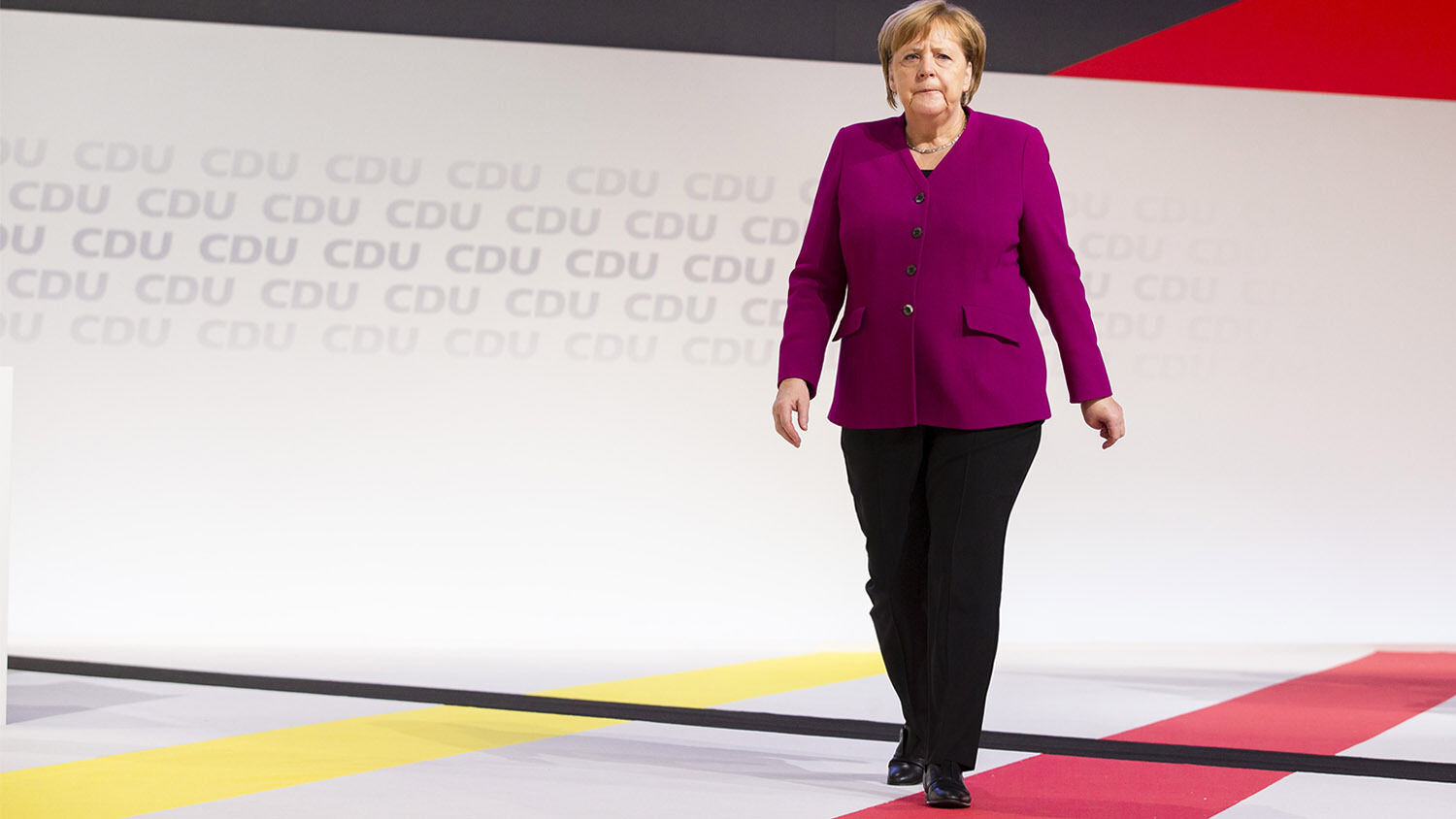 Germany Groans for a Savior German Chancellor Angela Merkel Emmanuele Contini  Nur