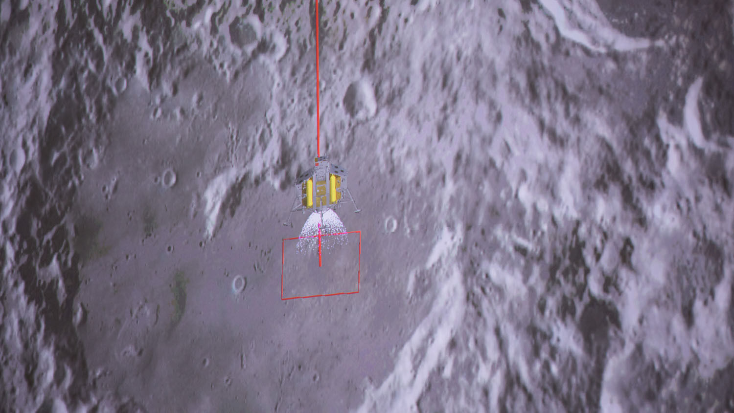 Chinese craft lands on 'dark' side of moon