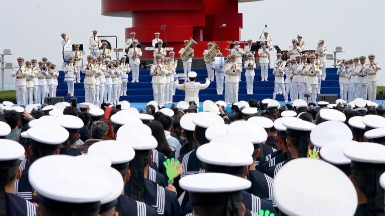 Naval Celebrations Highlight Chinese Resurgence