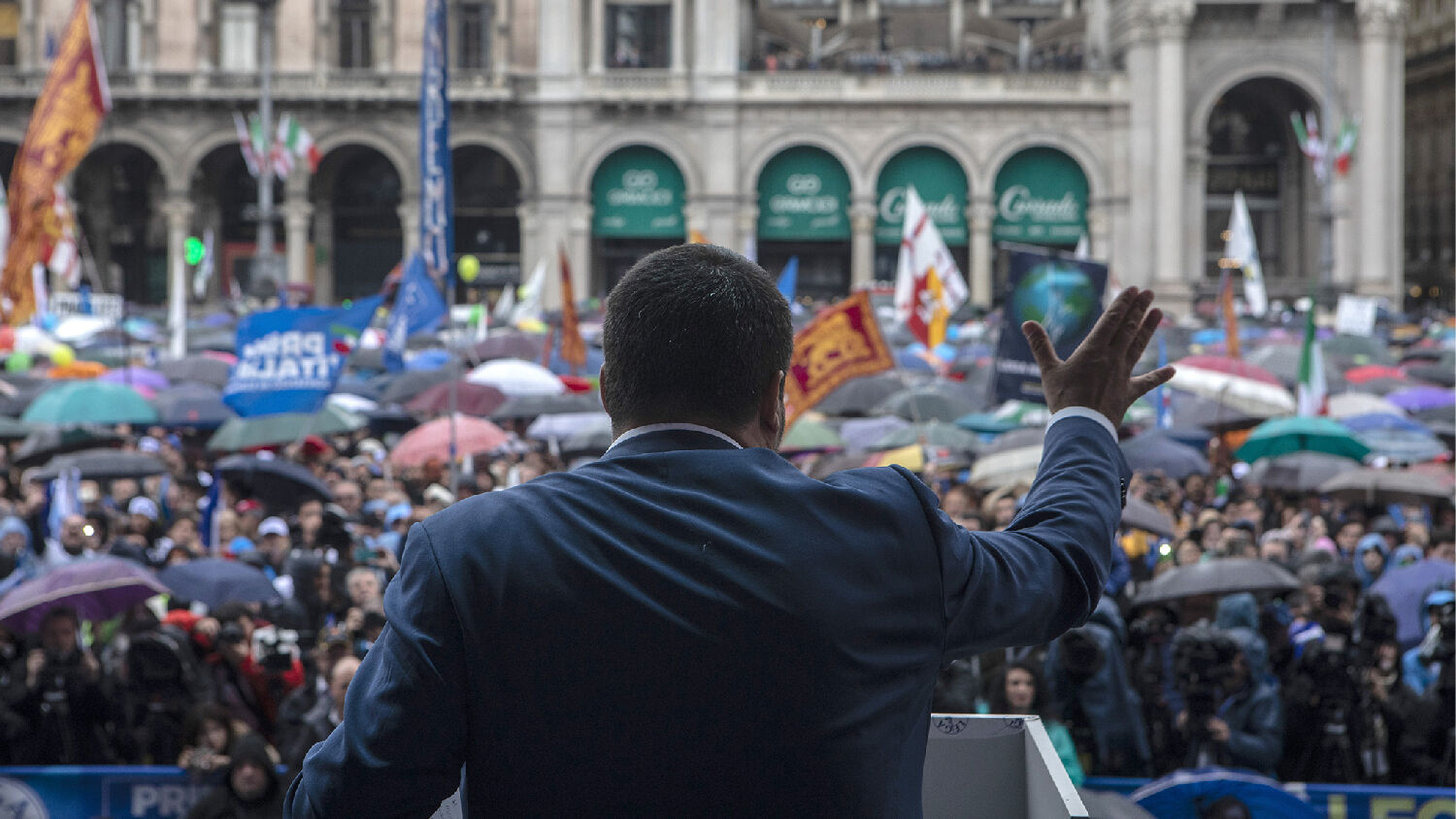 Matteo Salvini goads European Union with vow for Italy to defy budget rules