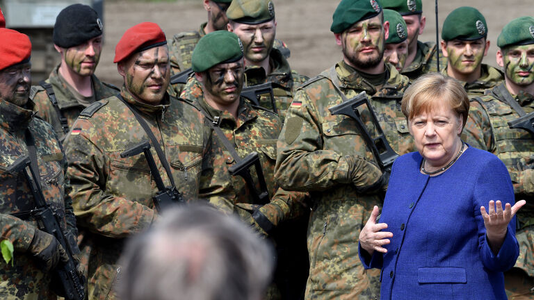 Germany Takes on More Responsibilities in NATO