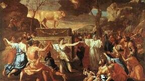 Evidence for Worship of the Golden Calf?