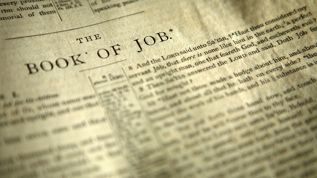 The Self-Righteousness of Job | theTrumpet.com