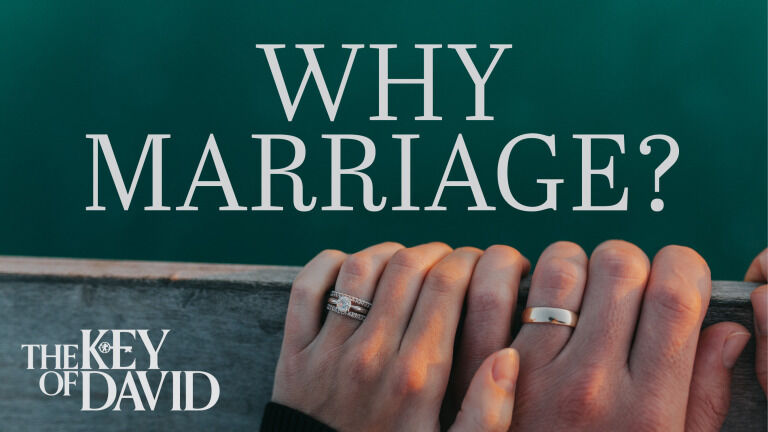 Why Marriage?