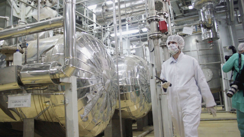 Iran Builds Nuclear Facility—Underground