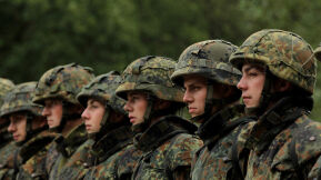 German Pacifists Signal Support for a Deadlier Army