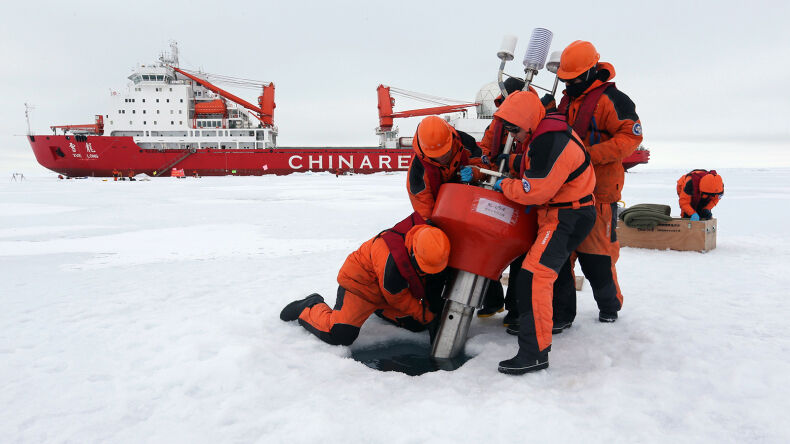 China Plans a 'Polar Silk Road'