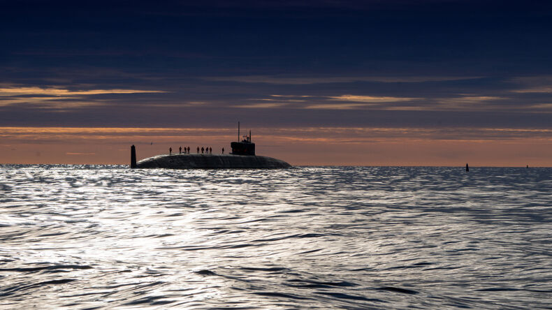 Russia Launches Giant New Submarine